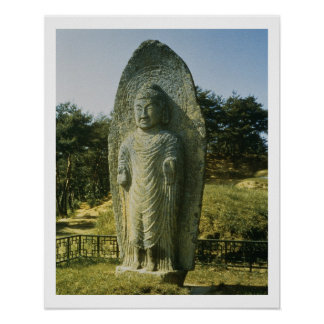 Buda permanente en Ch'olch'on-ni, Naju, 10mo centu Póster
