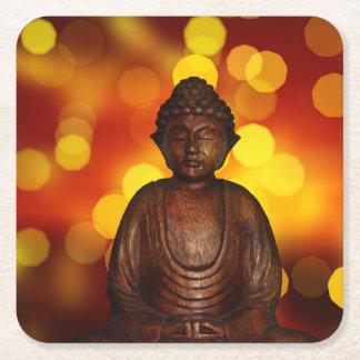 Buda Posavasos Desechable Cuadrado