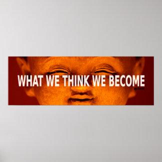Buda póster inspiración - papel (Laso)