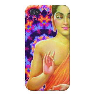 Buda psicodélico iPhone 4/4S fundas
