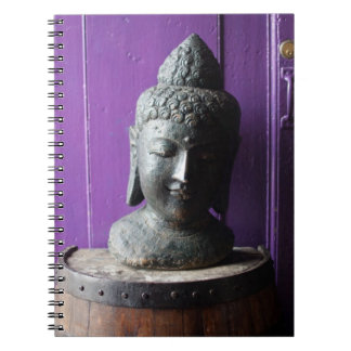 Buda púrpura spiral notebook