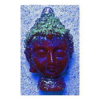 Buda púrpura de encargo único papelería de diseño