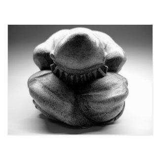 Buda que llora postal