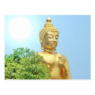 Buda que se sienta amistoso tarjetas postales
