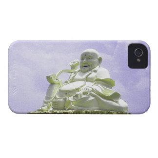 Buda que se sienta feliz carcasa para iPhone 4 de Case-Mate