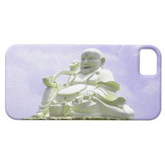 Buda que se sienta feliz iPhone 5 Case-Mate carcasa