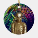 Buda - Rainbow Ornamento De Reyes Magos
