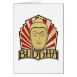 Buda retro tarjetas