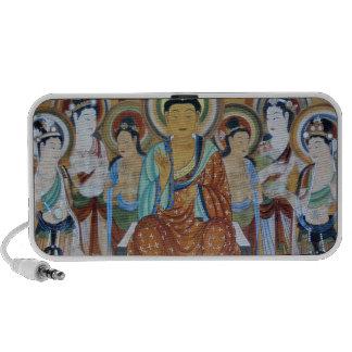 Buda rodeó por bodhisattvas altavoces
