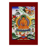 Buda Shakyamuni 2 series religiosas del poster del