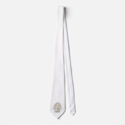 Buda silencioso corbata personalizada
