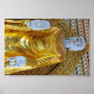 Buda sonriente de Malasia Poster