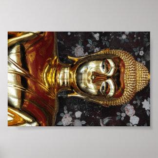 Buda sonriente de Tailandia Impresiones