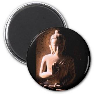 Buda suave y dulce imán de frigorifico