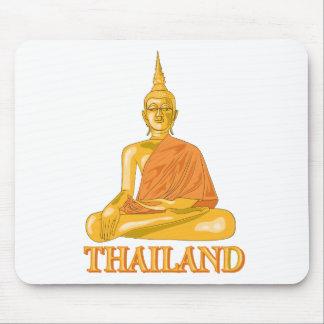 Buda tailandés alfombrilla de raton