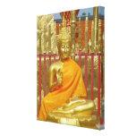 Buda tailandés Chiang Mai, Tailandia envolvió la l Impresiones En Lona