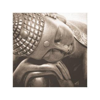 Buda tailandés lienzo envuelto para galerias