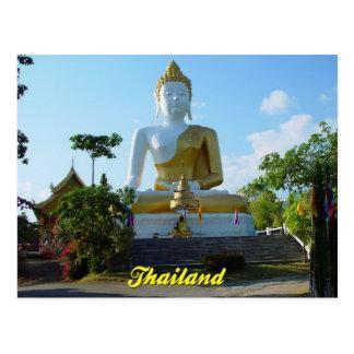 Buda tailandés postal de Chiang Mai, Tailandia