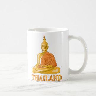 Buda tailandés tazas de café