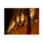 Buda Tailandia Wat/serenidad de la tranquilidad de Tarjetas Postales