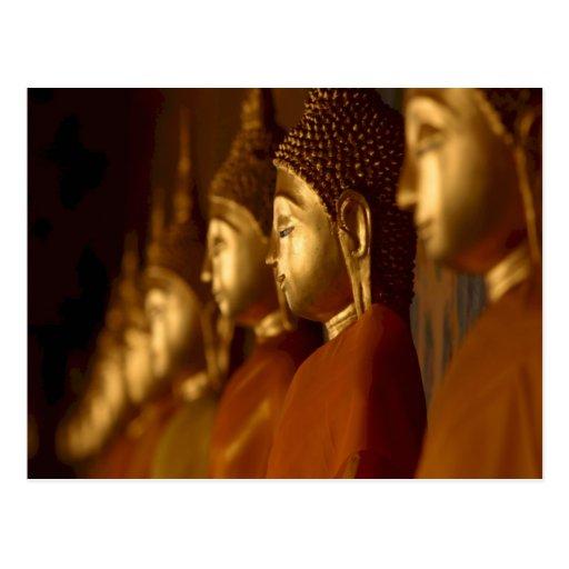 Buda Tailandia Wat/serenidad de la tranquilidad de Postales