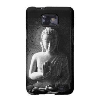 Buda tallado monocromo samsung galaxy SII funda