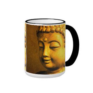 Buda Taza A Dos Colores