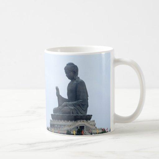 Buda Taza Básica Blanca