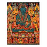 Buda trascendente del siglo XIII con Bodhisattvas Postal