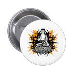 Buda tribal pins