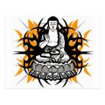 Buda tribal tarjeta postal