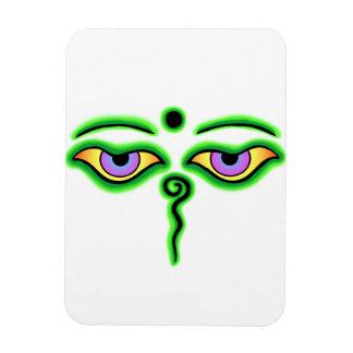 Buda verde Eyes.png Iman De Vinilo