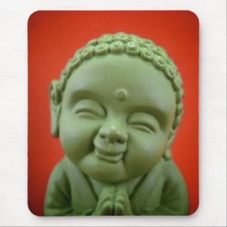 Buda verde Mousepad Alfombrilla De Raton