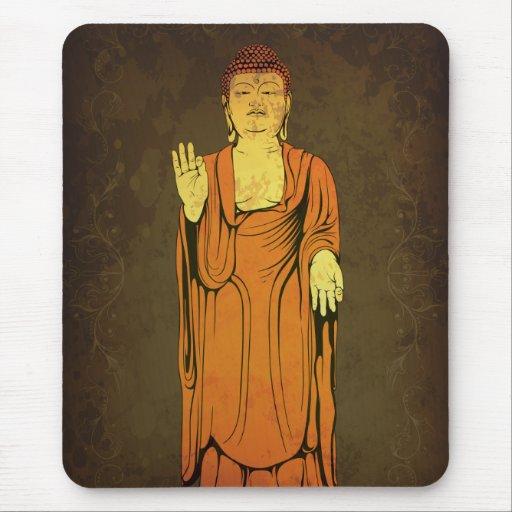 Buda Vitarka Mudra Alfombrilla De Ratón
