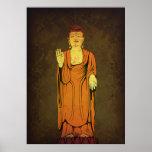 Buda Vitarka Mudra Impresiones