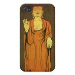 Buda Vitarka Mudra iPhone 4 Carcasas