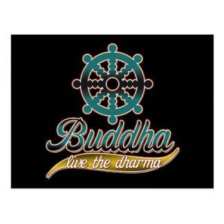 Buda vive el Dharma Postal