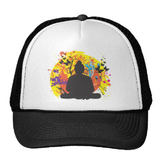 Buda y el Sun Gorro
