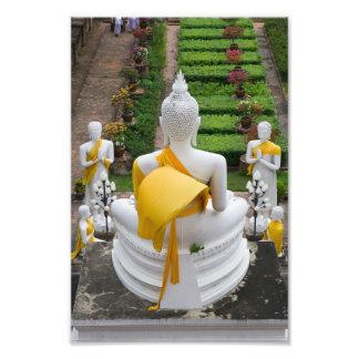 Buda y sus aprendices en Tailandia Fotografía