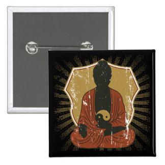 Buda Yin Meditating Yang Pins