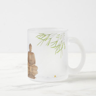 Buda zen tranquilidad paz curando belleza tazas de café