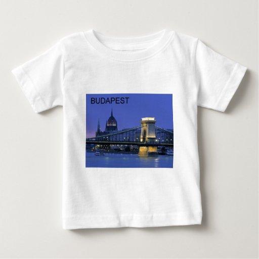 budapest1-. [kan.k] playera de bebé