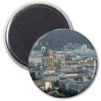 Budapest 2 Inch Round Magnet