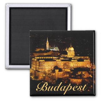 Budapest 2 Inch Square Magnet