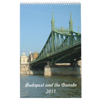 Budapest and the Danube Calendar