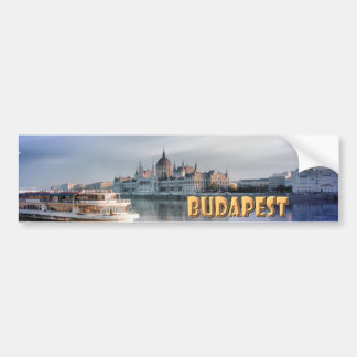 Budapest Pegatina De Parachoque