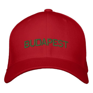 Budapest Cap Embroidered Hat
