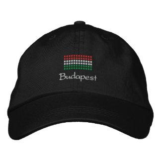 Budapest Cap - Hungarian Flag Hat