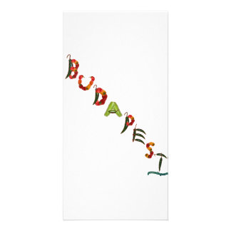 Budapest Chili Peppers Card