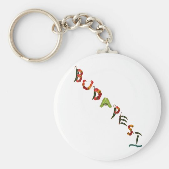 Budapest Chili Peppers Keychain